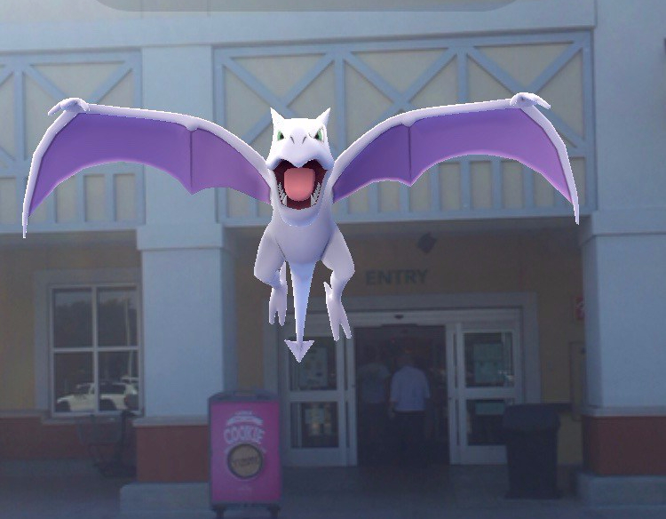 Aerodactyl at Publix